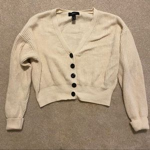 FOREVER 21 slouchy cardigan
